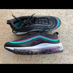 Women's Nike Air Max 97 Black Grape Sneakers